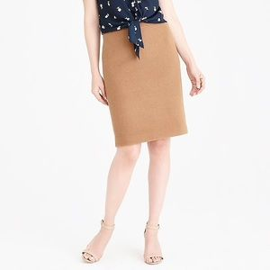 J crew no 2 pencil skirt in wool